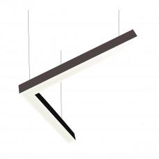 Светодиодный линейный светильник SMD-Line угол 40W 500x500mm