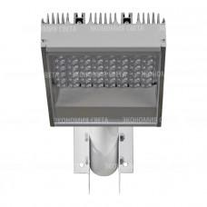 Уличный линзованый светодиодный светильник на опору УСС SMD-L 56 Вт