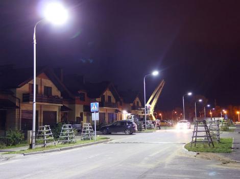 освещение коттеджных поселков
